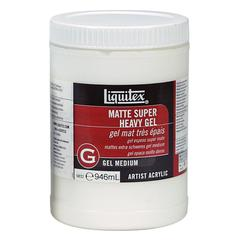 Liquitex Matte Super Heavy Gel Medium 32oz