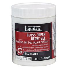 Gloss Super Heavy Gel Medium 16oz