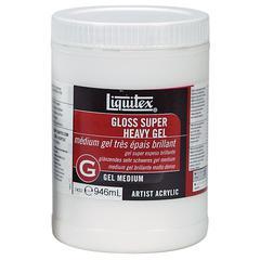 Liquitex Gloss Super Heavy Gel Medium 32oz