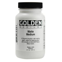 Golden Matte Medium 8 oz.