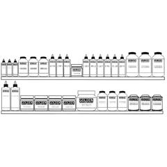Golden Mediums Grounds & Varnishes Display Assortment