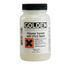 Golden Polymer Varnish with UVLS Gloss 8 oz.