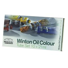 Winsor & Newton Winton Oil 10-Color Basic Set