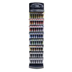 Winton Oil Color Paint Display Assortments