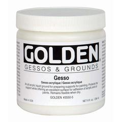 Golden Gesso 8 oz.