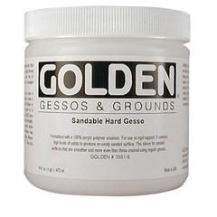 Sandable Hard Gesso 16 oz.
