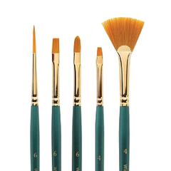 Bright Short Handle Brush #4