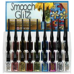 Smooch Glitz Glitter Finishing Coat Display Assortment