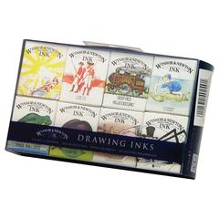 Winsor & Newton Drawing Ink Supplemental Set