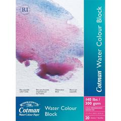 "Winsor & Newton Cotman 9"" x 12"" Watercolor Cold Press Paper Block"