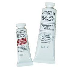 Winsor & Newton Designers' Gouache Color 37ml Permanent White
