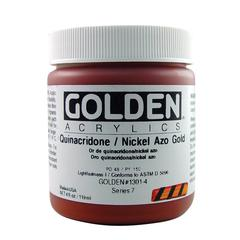 Heavy Body Acrylic 4 oz. Quinacridone/Nickel Azo Gold