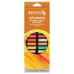Reeves Soft Pastels 32-Color Set