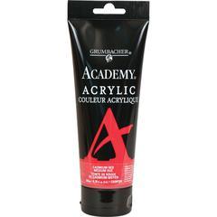 Grumbacher Academy Acrylic Paint 200ml Cadmium Red Medium Hue