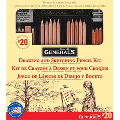 General's Classic Sketching & Drawing Kit