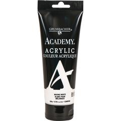 Grumbacher Academy Acrylic Paint 200ml Mixing White