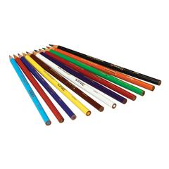 Long Colored Pencil 12-Color Set