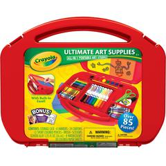Crayola Ultimate Art Supplies Kit with Built-in Easel