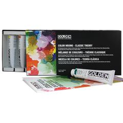 Heavy Body Acrylic Paint Classic Theory Color Mixing Sets