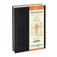"""Stillman & Birn Gamma Series 6"""" x 8"""" Wirebound Sketchbook"""