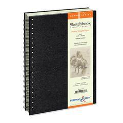 """7"""" x 10"""" Wirebound Sketchbook"""