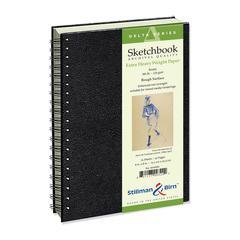 """Stillman & Birn Delta Series 6"""" x 8"""" Wirebound Sketchbook"""