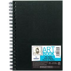 "5.5"" x 8.5"" Mix Media Wirebound Books"