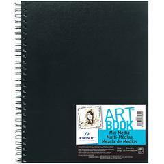 """9"""" x 12"""" Mix Media Wirebound Book"""