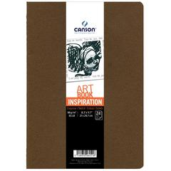 Canson ArtBook Inspiration Stitchbound Book 2-Pack Tobacco and Oyster