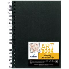 "7"" x 10"" Wirebound Drawing Book"