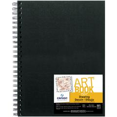 "9"" x 12"" Wirebound Drawing Book"