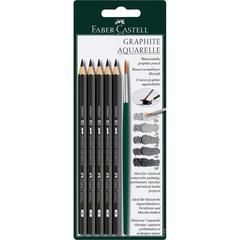 5-Piece Graphite Pencil Set