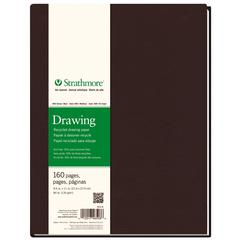 "Strathmore 400 Series 8 1/2"" x 11"" Sewn Bound Recycled Drawing Art Journal"