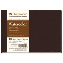 "8 1/2"" x 5 1/2"" Sewn Bound Watercolor Art Journal"