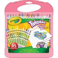 Colored Pencil & Paper Set