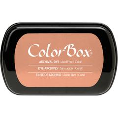 Full Size Archival Dye Ink Pad Coral