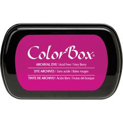 ColorBox Full Size Archival Dye Ink Pad Very Berry