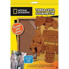 National Geographic Terra Cotta Sculpting Clay