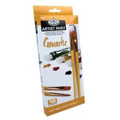 Royal & Langnickel 12ml Gouache Paint 12-Color Set