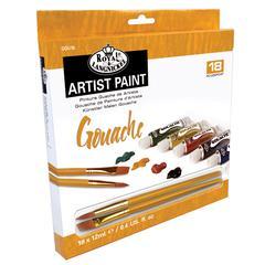 Royal & Langnickel 18-Color Gouache Paint Set