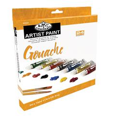 24-Color Gouache Paint Set