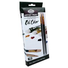 12ml Oil Paint 12-Color Set