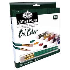Oil Paint 18-Color Set