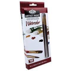 Royal & Langnickel 12-Color Watercolor Paint Set