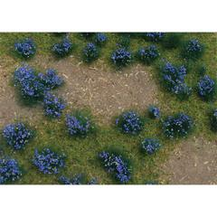 Architectural Model Flowering Violet Meadow Sheet