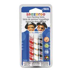 Snazaroo Face Painting 3-Stick Boy Set