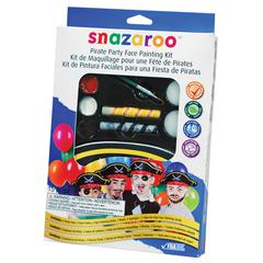 Snazaroo Pirate Themed Face Painting Party Kit