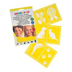 Snazaroo Generic Images Face Paint Stencil Set