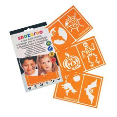 Snazaroo Halloween Themed Face Paint Stencil Set