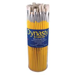 Dynasty B-1400 Canister Series Bright Brush Assortment